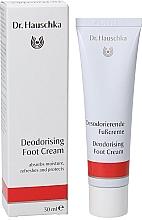 Fragrances, Perfumes, Cosmetics Deodoring Foot Cream - Dr. Hauschka Deodorizing Foot Cream