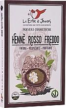 "Fragrances, Perfumes, Cosmetics Hair Powder ""Rosso Freddo"" - Le Erbe di Janas Red Henna Cold Shades"