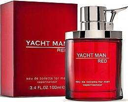 Fragrances, Perfumes, Cosmetics Myrurgia Yacht Man Red - Eau de Toilette
