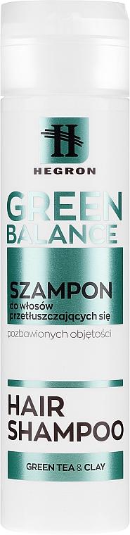 Oily Hair Shampoo - Hegron Green Balance Hair Shampoo