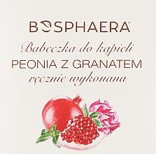 "Fragrances, Perfumes, Cosmetics Bath Bomb ""Peony and Pomegranate - Bosphaera"
