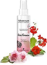 "Fragrances, Perfumes, Cosmetics Scented Body Spray ""Rose and Geranium"" - Allverne Nature's Essences Body Mist"