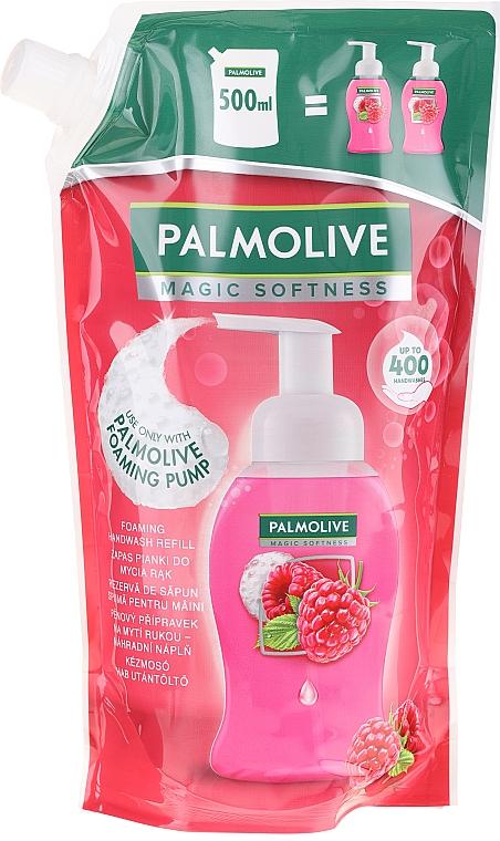 Liquid Soap - Palmolive Magic Softness Raspberry Foaming Handwash (doypack)