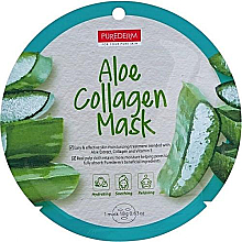 Fragrances, Perfumes, Cosmetics Collagen Aloe Mask - Purederm Aloe Collagen Mask