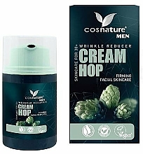 Fragrances, Perfumes, Cosmetics Anti-Wrinkle Natural Cream with Hop Extract - Cosnature Men