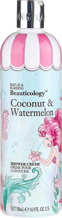 Coconut & Watermelon Shower Cream - Baylis & Harding Beauticology Mermaid Shower Cream