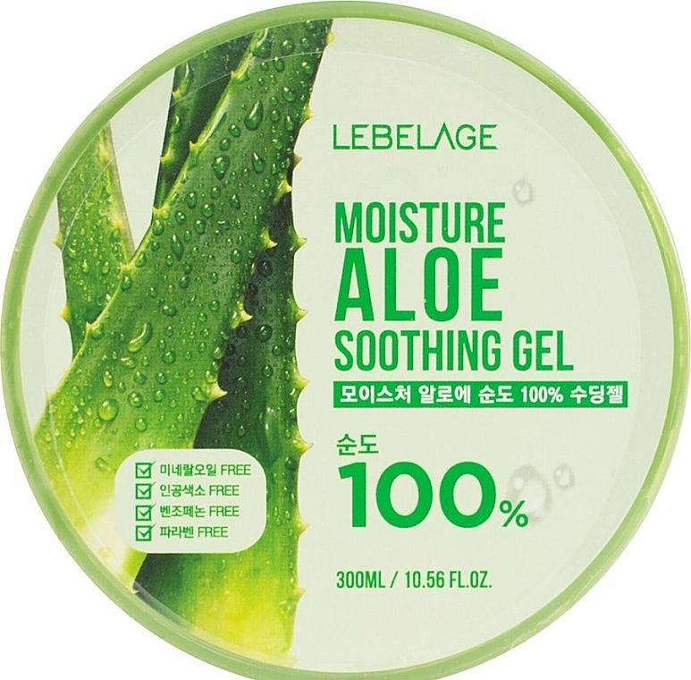Moisturizing Aloe Gel - Lebelage Moisture Aloe 100% Soothing Gel