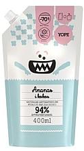 "Fragrances, Perfumes, Cosmetics Antibacterial Kids Soap ""Pineapple & Coconut"" - Yope (doypack)"