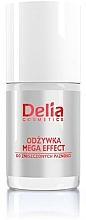 Fragrances, Perfumes, Cosmetics Nail Conditioner - Delia Cosmetics Mega Effect Nail Conditioner