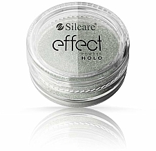 Fragrances, Perfumes, Cosmetics Nail Powder - Silcare Effect Powder Holo