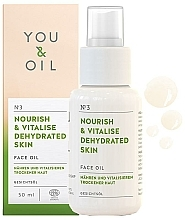 "Fragrances, Perfumes, Cosmetics Face Oil ""Nourish & Vitalise"" - You & Oil Nourish & Vitalise Dehydrated Skin Face Oil"