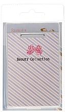 "Fragrances, Perfumes, Cosmetics Cosmetic Mirror, 85581 ""Kompakt Prostok Metal"", lilac - Top Choice"