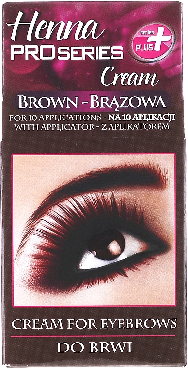 Brow Tintation - Henna