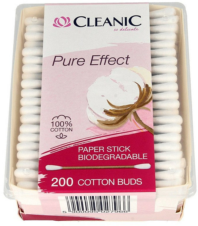 Cotton Buds - Cleanic Pure Effect