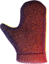 "Fragrances, Perfumes, Cosmetics Massage Glove ""Aqua"", 6021, purple-yellow - Donegal Aqua Massage Glove"