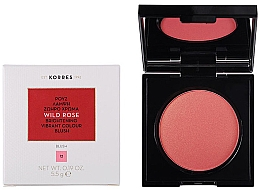 Fragrances, Perfumes, Cosmetics Face Blush - Korres Wild Rose Brightening Vibrant Colour Blush
