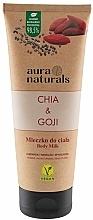 Fragrances, Perfumes, Cosmetics Chia & Goji Body Milk - Aura Naturals Chia & Goji Body Milk