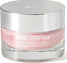 Fragrances, Perfumes, Cosmetics Anti-Aging Radiance Face Cream - Diego Dalla Palma Petal Glow Age Multi Radiance Replumping Cream