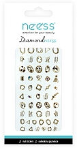 Fragrances, Perfumes, Cosmetics Nail Art Stickers, 3713 - Neess Diamondneess