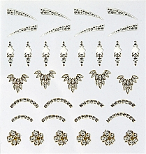 "Fragrances, Perfumes, Cosmetics Decorative Nail Stickers ""Pearl"" - Peggy Sage Decorative Nail Stickers Jewel"