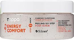 Fragrances, Perfumes, Cosmetics Sugar Foot Scrub - Silcare Nappa Natural Sugar Foot Scrub