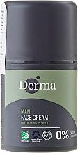 Fragrances, Perfumes, Cosmetics Men Face Cream - Derma Man Face Cream