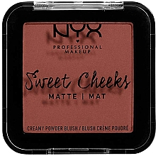 Fragrances, Perfumes, Cosmetics Matte Blush - NYX Professional Makeup Sweet Cheeks Matte Blush