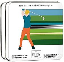 "Fragrances, Perfumes, Cosmetics Body Soap ""Golf"" - Scottish Fine Soap In A Tin Golf"