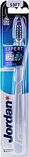 "Fragrances, Perfumes, Cosmetics Soft Toothbrush ""Expert Clean"", blue - Jordan Tandenborstel Expert Clean Soft"