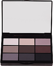 Fragrances, Perfumes, Cosmetics Eyeshadow Promo Set - Gosh 9 Shades Eye Palette
