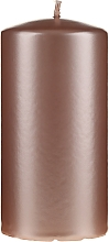 Fragrances, Perfumes, Cosmetics Pearl Decorative Candle, 14 cm, rose gold - Artman Opal Candle
