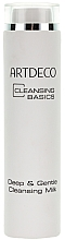 Fragrances, Perfumes, Cosmetics Cleansing Milk - Artdeco Deep and Gentle Cleansing Milk