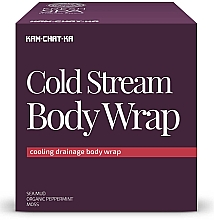 Fragrances, Perfumes, Cosmetics Cooling Lymphatic Drainage Wrap - Natura Siberica Fresh Spa Kam-Chat-Ka Cold Stream Body Wrap