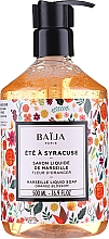 Fragrances, Perfumes, Cosmetics Marseille Liquid Soap - Baija Ete A Syracuse Marseille Liquid Soap