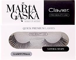 Fragrances, Perfumes, Cosmetics Flase Lashes - Clavier Quick Premium Lashes GentleWOWman 803