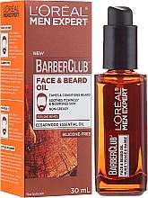 Fragrances, Perfumes, Cosmetics Face and Long Beard Oil - L'Oreal Paris Men Expert Barber Club Long Beard + Skin Oil