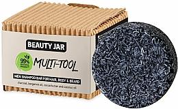 Fragrances, Perfumes, Cosmetics Men Hair, Body & Beard Shampoo - Beauty Jar Multi-Tool Men Shampoo Bar For Hair, Body & Beard