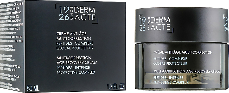 Multi-Correction Age-Recovery Cream with Peptides and Global Protective Complex - Academie Derm Acte Multi-Correction Age Recovery Cream
