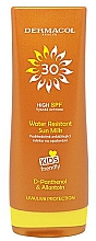Fragrances, Perfumes, Cosmetics Kids Waterproof Milk for Tan SPF 30 - Dermacol Water Resistant Sun Milk Kids Friendly SPF 30