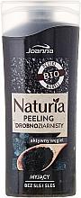 "Fragrances, Perfumes, Cosmetics Shower Peeling ""Active Carbon"" - Joanna Naturia Peeling"