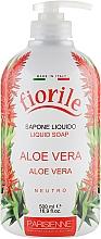 """Fragrances, Perfumes, Cosmetics Liquid Soap """"Aloe Vera"""" - Parisienne Italia Fiorile Aloe Vera Liquid Soap"""