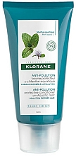 Fragrances, Perfumes, Cosmetics Hair Balm - Klorane Anti-Pollution Protective Conditioner With Aquatic Mint