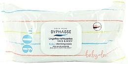 Fragrances, Perfumes, Cosmetics Baby Wet Wipes, 90 pcs. - Byphasse Baby Cleansing Wipes Face and Body
