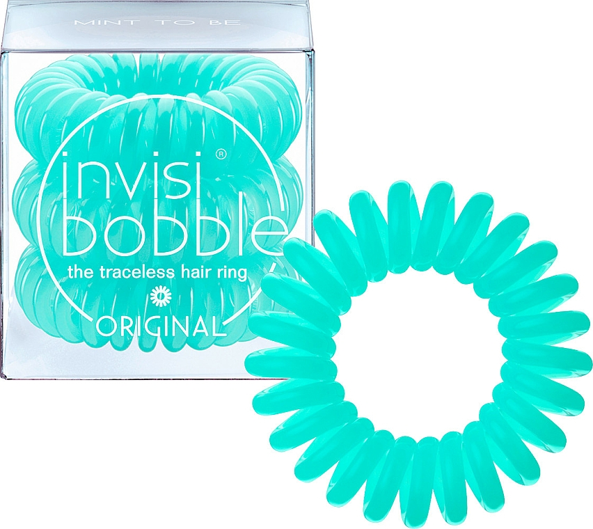 Hair Ring, 3 pcs - Invisibobble Original Mint To Be