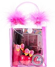 Fragrances, Perfumes, Cosmetics Cosmetic Set for Girls - Tutu Mix 21 (n/polish/5ml + lip/gloss/7ml + eye/cheek/mus/2,5g + bag)