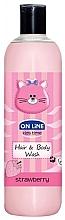 "Fragrances, Perfumes, Cosmetics Shampoo-Shower Gel ""Strawberry"" - On Line Kids Time Hair & Body Wash Strawberry"