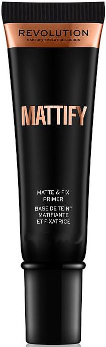 Mattifying Face Primer - Makeup Revolution Mattify Primer