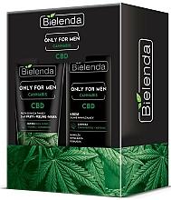Fragrances, Perfumes, Cosmetics Set - Bielenda Only For Men Cannabis (cr/50ml + paste/150g)