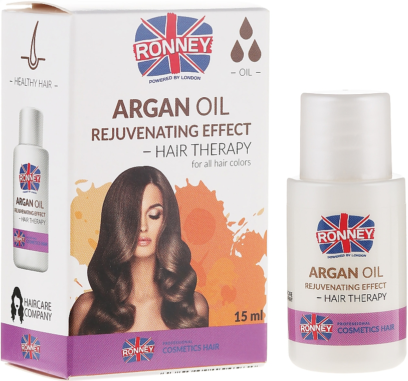 Fatigued Hair Oil - Ronney Argan Oil Rejuvenating Hair Therapy