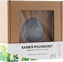 Fragrances, Perfumes, Cosmetics Natural Scrubbing Face Stone, gray - Pierre de Plaisir Natural Scrubbing Stone Face